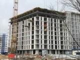 Будівництво 10-го поверху РК Рів'єра