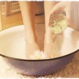 Горчичная ванна для ног