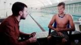 З російськими плавцями в клубі ладнаємо, буває, жартуємо про політику